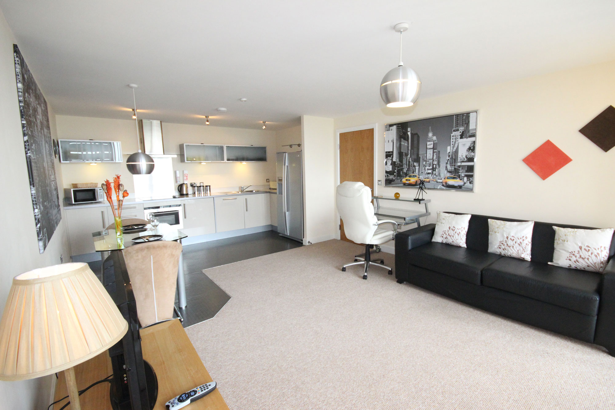 Vizion Apartments Milton Keynes One Bedroom Furnished