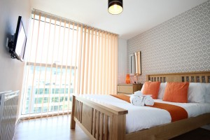 Hub 2 bedroom 2 bathroom serviced apartment