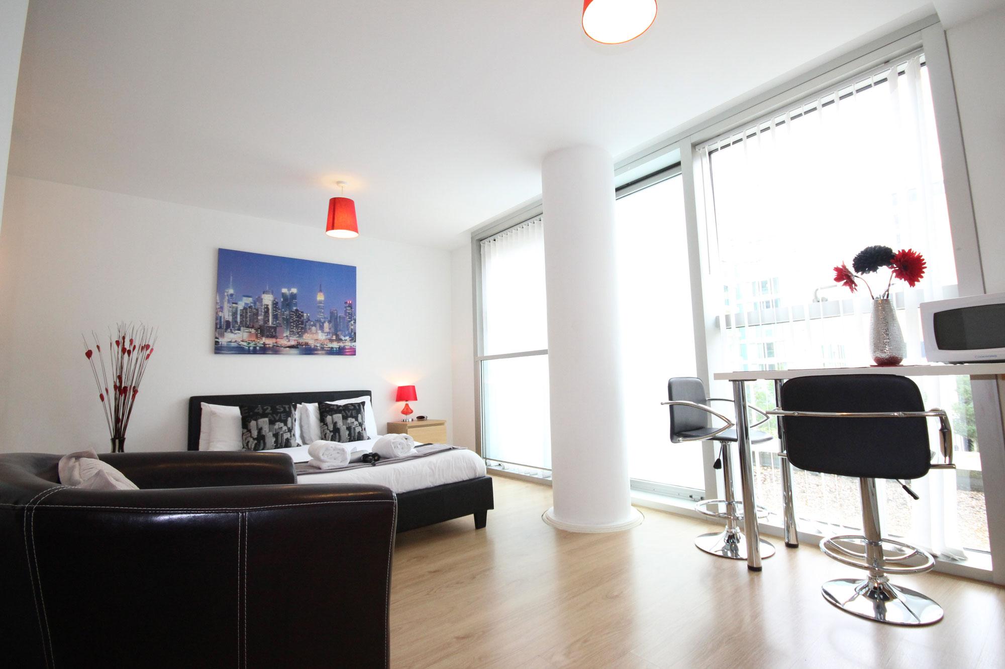 The Hub Studio Apartment In Milton Keynes