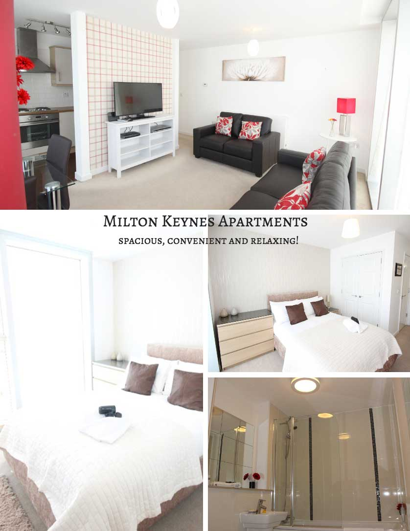 Photos of the rooms in Milton Keynes Apartments